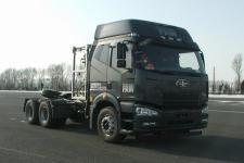 解放牌CA4250P66T1A1E22M5型平头天然气半挂牵引汽车