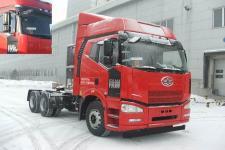 解放牌CA4250P66T1A1E22M5型平头天然气半挂牵引汽车图片