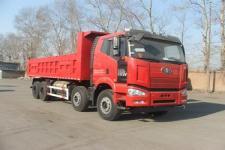 解放前四后八平头天然气自卸车国五394马力(CA3310P66L5T4E22M5)