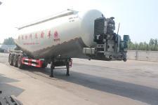 绿叶11.9米29.7吨3低密度粉粒物料运输半挂车