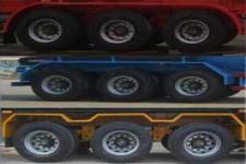 绿叶牌JYJ9400GFL型低密度粉粒物料运输半挂车图片