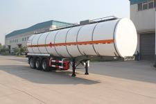 绿叶11.7米30吨3轴化工液体运输半挂车(JYJ9400GHY)