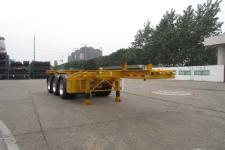 通华8.5米35吨3轴危险品罐箱骨架运输半挂车(THT9403TWY)