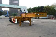 通华10.9米33.7吨3轴危险品罐箱骨架运输半挂车(THT9403TWYB)