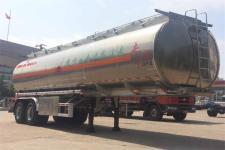 东风9.8米29.8吨2轴铝合金运油半挂车(DFZ9352GYY)
