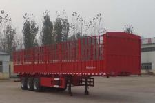 鸿盛业骏12米33.2吨3轴仓栅式运输半挂车(HSY9400CCY)