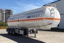 中集11.6米33.4吨3轴铝合金易燃液体罐式运输半挂车(ZJV9401GRYJM)