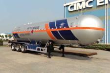 宏图13.4米25.5吨3轴液化气体运输半挂车(HT9409GYQA6)