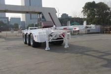 通华8.5米35.2吨3轴危险品罐箱骨架运输半挂车(THT9403TWY01)
