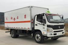 程力威国五单桥厢式货车156马力5-10吨(CLW5129XRGB5)