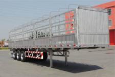 蒙凯12米34.3吨3轴铝合金仓栅式运输半挂车(MK9401CCYLH)