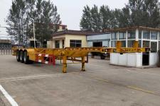 鲁际通14米34.6吨3集装箱运输半挂车