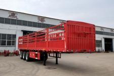 鲁际通牌LSJ9403CCY型仓栅式运输半挂车(直梁仓栅 11.5m/11m/10.5m)