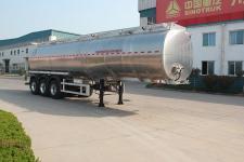 绿叶11.5米33.6吨3轴润滑油罐式运输半挂车(JYJ9400GRH)