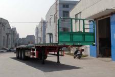 衡畅12米34吨3轴平板运输半挂车(XJN9400TPBE)