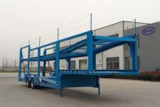 骏华兴13.8米16.8吨2轴车辆运输半挂车(LJH9251TCL)