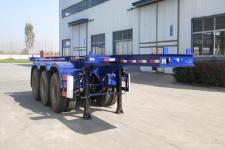 郓腾8米35.1吨3轴集装箱运输半挂车(HJM9404TJZ)
