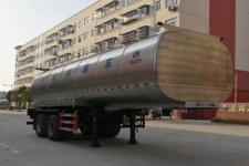 程力威8.8米26.3吨2轴鲜奶运输半挂车(CLW9350GNY)