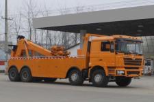 國五大型一拖一清障車(陜汽德龍拖吊聯體)價格