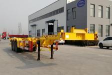衡畅14米34吨3轴集装箱运输半挂车(XJN9400TJZE)
