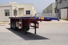 衡畅12米34吨3轴平板运输半挂车(XJN9400TPB)