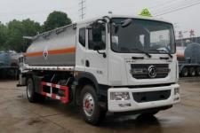 大力牌DLQ5181GFWXP型腐蚀性物品罐式运输车