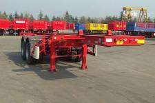骏通7.6米31.2吨2轴危险品罐箱骨架运输半挂车(JF9350TWY20)