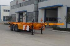 国世华邦12.4米34.5吨3轴集装箱运输半挂车(XHB9400TJZG)