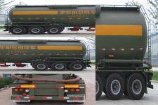 国世华邦牌XHB9400GFL型低密度粉粒物料运输半挂车图片
