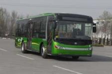 10.5米中通混合动力城市客车