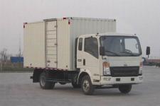 重汽HOWO轻卡国五单桥厢式运输车131-170马力5吨以下(ZZ5047XXYF341CE145)