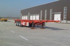 祥荷12.2米34吨3轴集装箱运输半挂车(JJN9401TJZ)