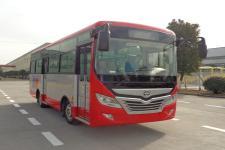 华新牌HM6735CFN5J型城市客车