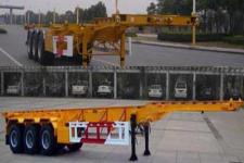 国世华邦牌XHB9400TWY型危险品罐箱骨架运输半挂车图片
