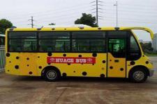 华新牌HM6602LFD5J型客车图片2