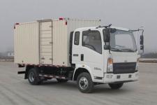 重汽HOWO轻卡国五单桥厢式运输车140-180马力5吨以下(ZZ5107XXYG421CE1)