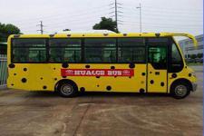华新牌HM6740LFD5X型客车图片2