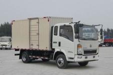 豪沃国五单桥厢式货车129-170马力5吨以下(ZZ5047XXYG3314E145)
