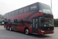 12.3米|34-72座宇通纯电动双层城市客车(ZK6126BEVGS1)