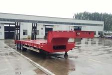 鲁际通12.5米32.2吨3低平板半挂车