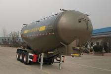中基华烁9.3米31.8吨3轴中密度粉粒物料运输半挂车(XHS9401GFLA)