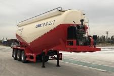 中集9.3米31.6吨3轴中密度粉粒物料运输半挂车(ZJV9401GFLJM)