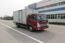 福田奥铃国五单桥厢式运输车110-156马力5吨以下(BJ5048XXY-FA)