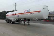 圣达因13米24.3吨3轴低温液体运输半挂车(SDY9391GDYT)