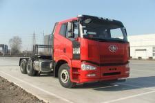 解放后双桥,后八轮平头柴油半挂牵引车355马力(CA4250P66K2L1T1E5Z)