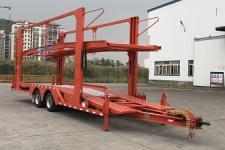 中集12米8吨2轴中置轴车辆运输挂车(ZJV9150TCLJM)