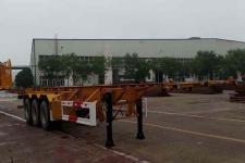 华骏12.4米34.4吨3轴危险品罐箱骨架运输半挂车(ZCZ9400TWYH)