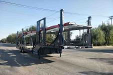 金牛13.8米11.1吨2轴车辆运输半挂车(JQC9203TCL)