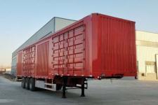 郓腾13米31.5吨3轴厢式运输半挂车(HJM9406XXY)