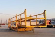 梁犇13.8米17.5吨2轴车辆运输半挂车(WRQ9250TCL)